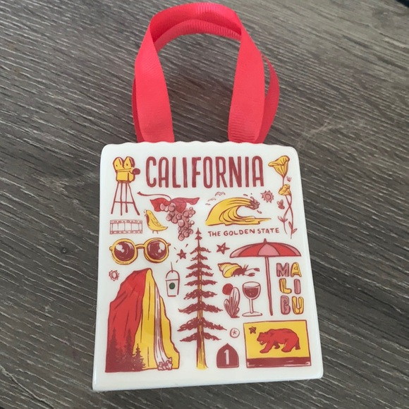 Starbucks CA been there series glass gift bag